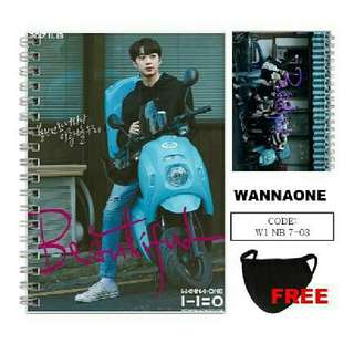 Wanna One Nothing Without You Notebook