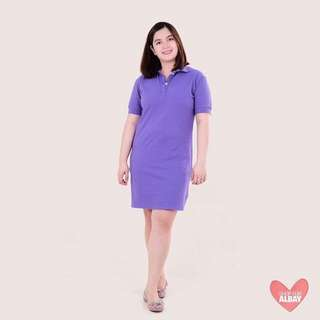 Purple Polo Dress