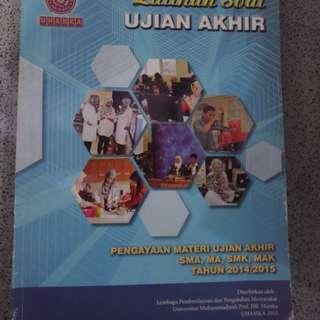 Buku Latihan Ujian Akhir Tingkat SMA/MA/SMK/MAK