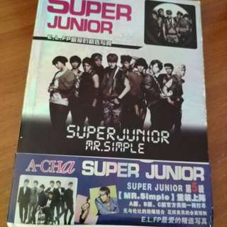 Super Junior Photo Book Album