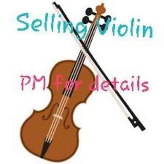 Violin 4/4 (full set with accessories)