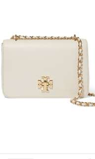 Tory burch ivory chain bag