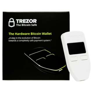 Authorised Reseller - Brand New Sealed Trezor Cryptocurrency Bitcoin hardware wallet