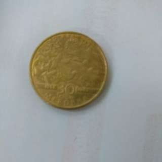 1rm coin 30yr merdeka edition 1957-1987