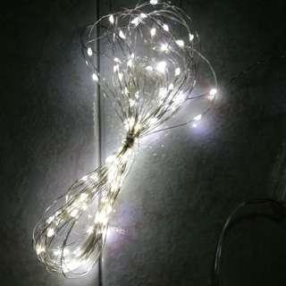RENTAL LED FAIRY LIGHTS - WHITE 10M