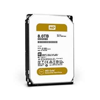 "WD Gold 3.5"" Int HDD 8TB"