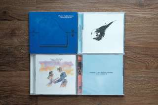 Final Fantasy VII VIII IX X X-2 Piano Collections Soundtrack CDs
