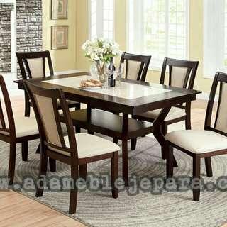 Meja makan minimalis elite 011