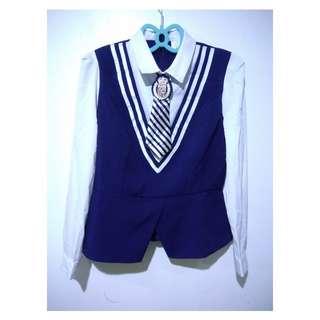 Korean/Japanese school uniform top
