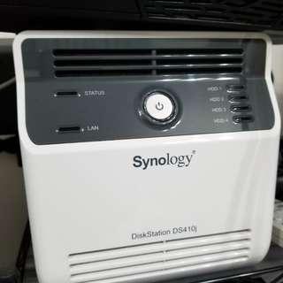 明交收1000 Synology DS410j NAS 私有雲