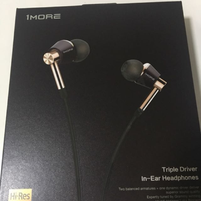 1More Triple Driver In-Ear Build Quality Picture. Source · photo photo photo photo photo