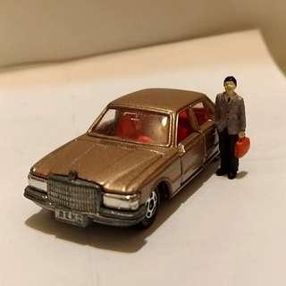 1976TOMY賓士450SEL合金車