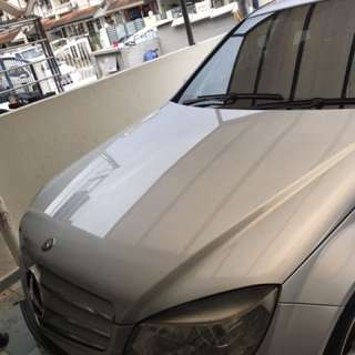 Original Mercedes w204 front bonnet