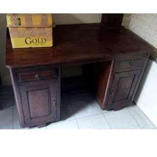 Office desk jati traditional & antique