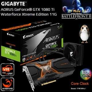 Gigabyte AORUS GTX 1080 Ti Waterforce Xtreme Edition 11G..( 5 month ago, OLD )