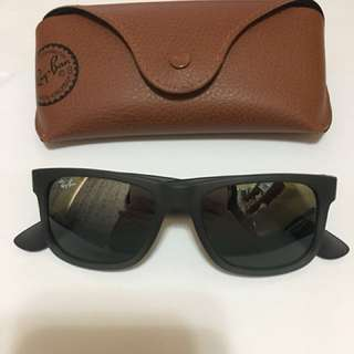 Ray-Ban太陽眼鏡 RB4165 Justin |51| Grey Rubber