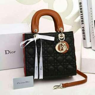 Christian Dior Lady Dior Platinum (Black)