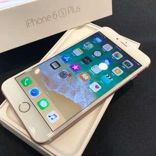 無傷漂亮 玫瑰金iPhone6S Plus 64G 盒裝附全部配件 高雄鳳山可面交