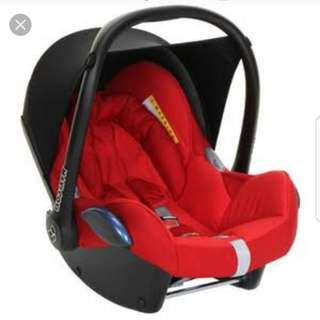 Maxi cozy car seat for quinny bugaboo