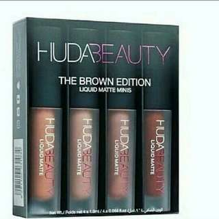 HudaBeauty / The Brown Edition / minis / in-stock