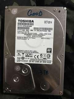 1t 2t 3t 4thdd 大量硬碟 二手全正常