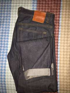 Selvedge Raw Denim BNV size 34
