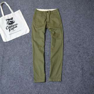 G.U by Uniqlo flat front chino pants