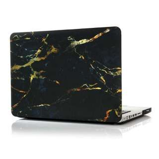 "[PO] Marble Matte Macbook Case (Black) for 11""/12""/13""/15"""
