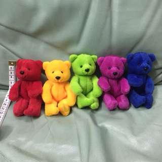 [set]Lovely Lace mini teddy bears