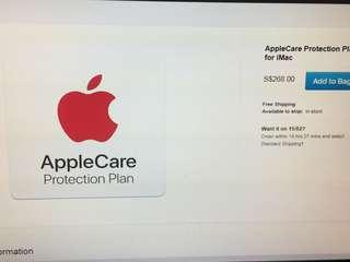 Apple care for iMac