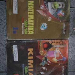 Buku LKS Matematika dan Kimia Untuk SMA Kelas 10
