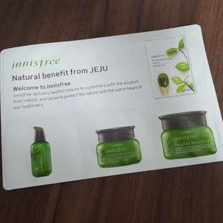 INNISFREE Green Tea Sample