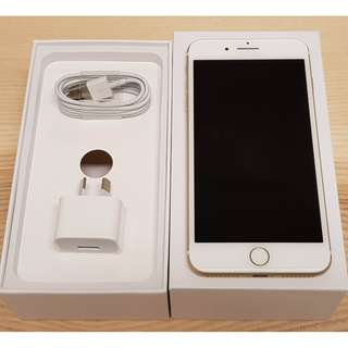 Like New iPhone 7 Plus Gold 128GB - Warranty - Receipt