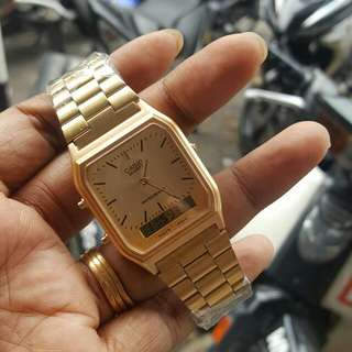 Gold Casio Watch *promo*