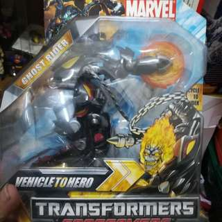 Transformers Crossovers Ghost Rider