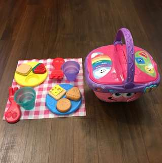 Leapfrog Shapes and Share Picnic Basket