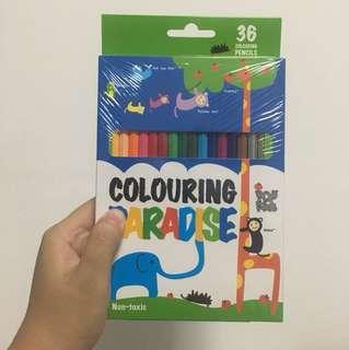 36 Colour Pencils
