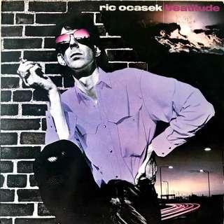 Ric Ocasek Vinyl Record