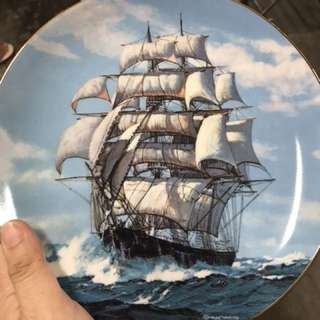 The Twilight Under Full Sail Charles Vickery Golden Age Clipper Ships Plate