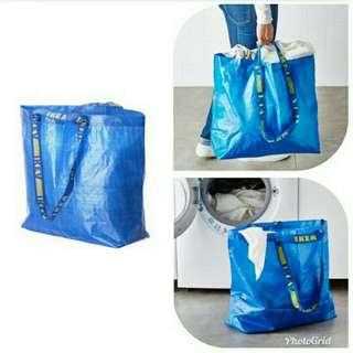 Ikea Frakta Reusable bag(set of 3) Slightly used Medium