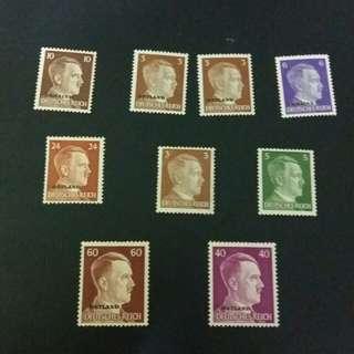 德國郵票有膠