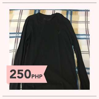 American Eagle Outfitters Long Sleeve Black Tee