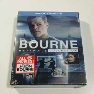 The Bourne Ultimate Collection Blu-ray