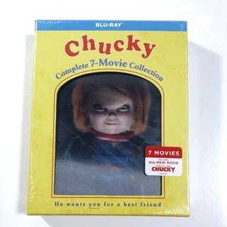 Chucky Complete 7 Movie Collection Blu-ray