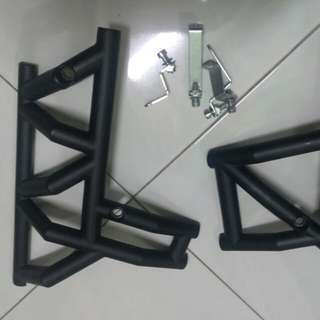 Abs crash bar rs150
