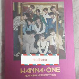 [WTS] WANNA ONE NOTHING WITHOUT YOU ALBUM ONE VER