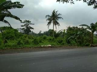 Tanah jonggol pinggir jalan raya