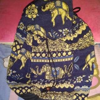 Backpack gajah thailand