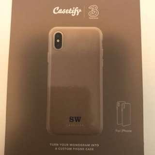 Casetify 3 customize iPhone case 原價383
