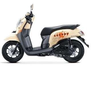 Ready New Scoopy Promo Diskon Dp 1,6 Solusi Kredit Motor Honda